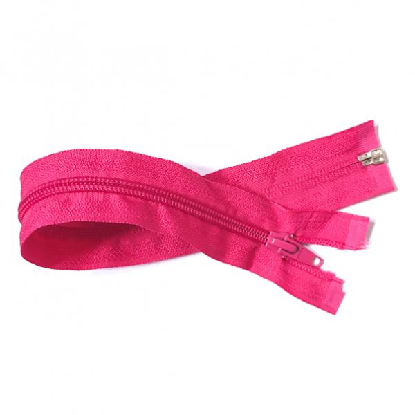 teilbarer Reißverschluss, ca.30cm, pink